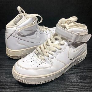 Nike Air Force 1 mid '70 white 315123-111 Size 8